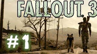 Fallout 3. Прохождение 1 - Детство по ускоренной программе.