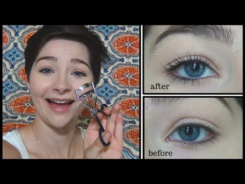 How to Curl Your Eyelashes & Apply Mascara | Basics and Tips