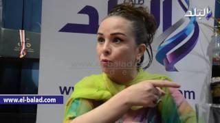 بالفيديو.. حنان شوقى تشييد بكلمة 'السيسي' للفنانين