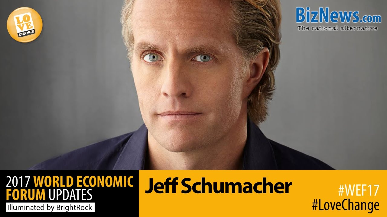 Jeff Schumacher: What's next for the startup world - YouTube