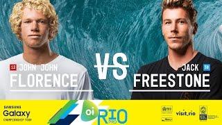John John Florence vs. Jack Freestone - Oi Rio Pro 2016 Final