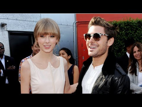 """Zac Efron Kisses and Praises the """"Absolutely Wonderful"""" Taylor Swift"""