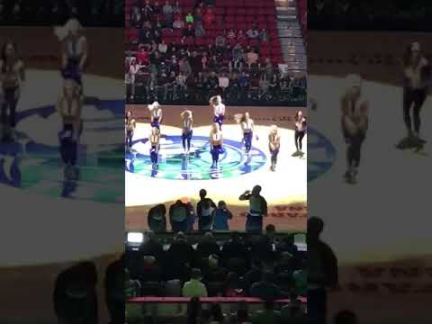 "Iowa Wolves Dancers ""Out Tonight"" Nov 2017"