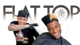 Flat top showcase / tutorial (90's Hairstyle)