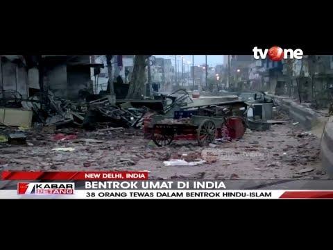 Bentrok Antar Umat Beragama di India, 38 Orang Tewas | tvOne