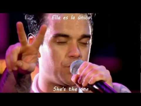 Robbie Williams She's the one HD subtitulado en español e ingles