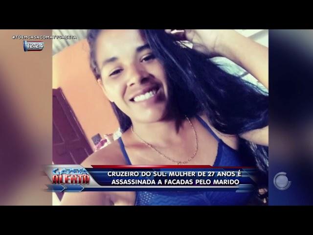 Marido mata a esposa a facadas na frente do filho em Cruzeiro do Sul