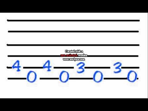 Guitar guitar tabs 007 theme song : James Bond tab!!! - YouTube