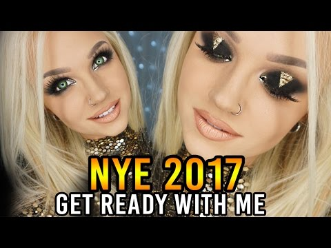 NEW YEARS EVE 2017 - Get Ready With Me | Glam&Gore