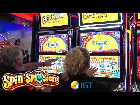 Spin-Splosion! Slot Tournaments from IGT