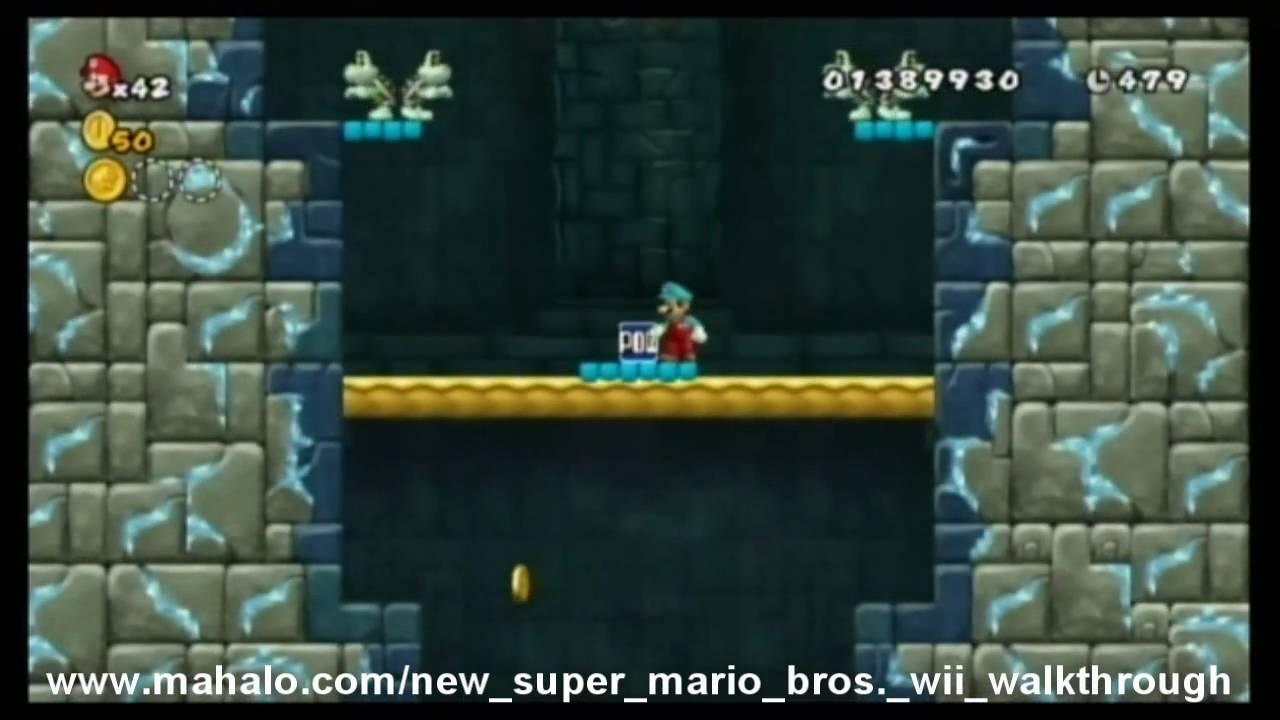 New Super Mario Bros Wii Walkthrough Videos Guide Video Games