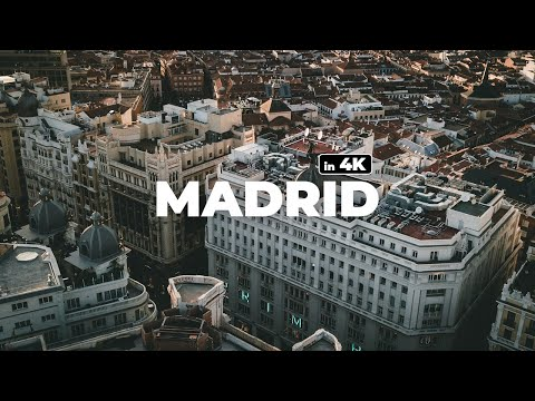 MADRID - DREAMING OF SPAIN IN LOCKDOWN ! - 4k