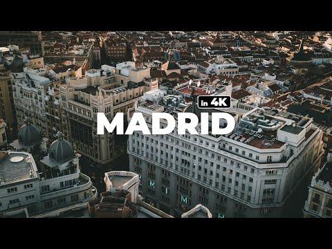 MADRID - DREAMING OF SPAIN IN LOCKDOWN ! - 4k