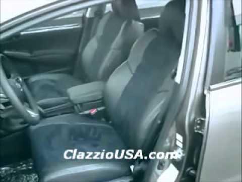 Clazzio Honda Civic Sedan Leather Seat Covers