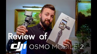 DJI Osmo mobile 2  REVIEW and APPS COMPARISON