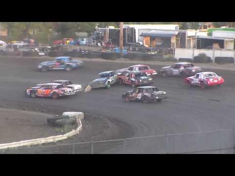 Nodak Speedway IMCA Hobby Stock B-Main (Motor Magic Night #1) (9/2/17)