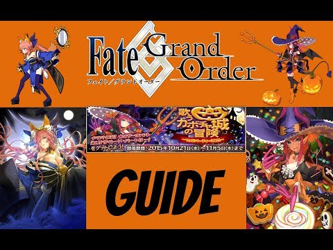 Fate Grand Order NA Halloween Complete Guide, Tips & Farming