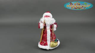 Дед Мороз С 23471 (24) МУЗЫКАЛЬНЫЙ, в коробке