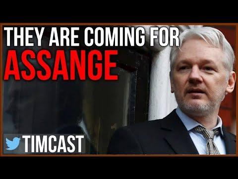 Julian Assange Is About To Lose Asylum, Arrest Imminent