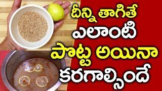 దీన్ని తాగితే ఎలాంటి పొట్ట ఐనా కరగాలసిందే I Belly Fat I Health Tips in Telugu I Everything in Telugu