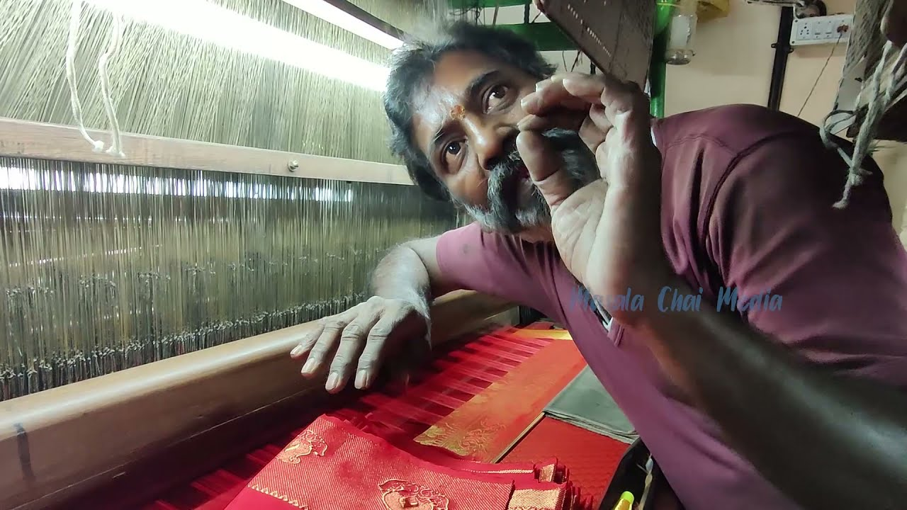 Do you know how Silk Sarees are made? Here is one of the oldest silk saree manufacturer in Bangalore
