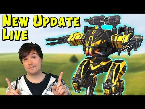 New War Robots Update & Mk2 Multi Purpose Power Hangar Gameplay WR