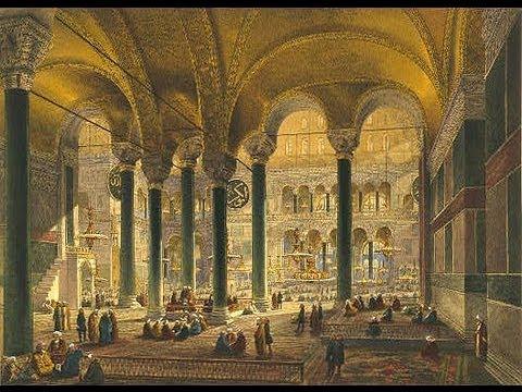 СОБОР СОФИИ КОНСТАНТИНОПОЛЬСКОЙ - !!!шедевр византийской архитектуры