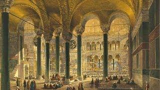 СОБОР СОФИИ КОНСТАНТИНОПОЛЬСКОЙ - !!!шедевр византийской архитектуры(Собор св. Софии в Стамбуле - древнейшее эпохальное сооружение с наибольшей в мире шириной купола на храме - 32м., 2013-06-24T10:49:29.000Z)