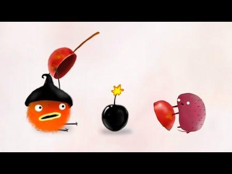 ЧУЧЕЛ #3. Воздушная погоня за вишней. Мультфильм CHUCHEL на канале Игрули TV