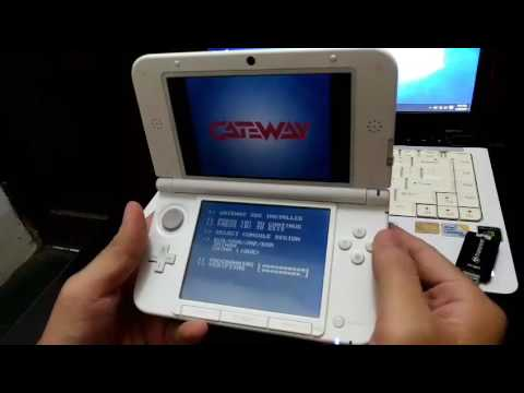 Tutorial install Gateway 3 7 2 pada 3DS FW 4 0- 4 5
