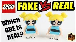 LEGO vs LEPIN REAL or FAKE Minifigures?