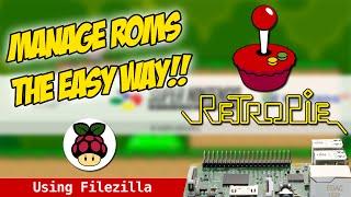 RetroPie - How to use SFTP to manage Roms