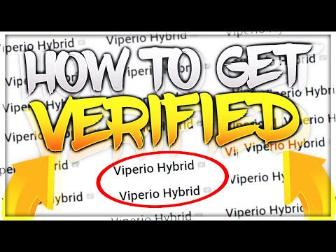 HOW TO GET VERIFIED ON YOUTUBE! (BEST METHODS)