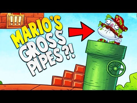EVER WONDER WHAT'S IN THE SUPER MARIO PIPES...?   Troll Face Quest Video Games Mobile Gameplay