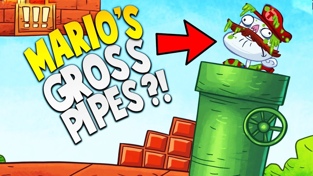 EVER WONDER WHAT'S IN THE SUPER MARIO PIPES…? | Troll Face Quest Video Games Mobile Gameplay
