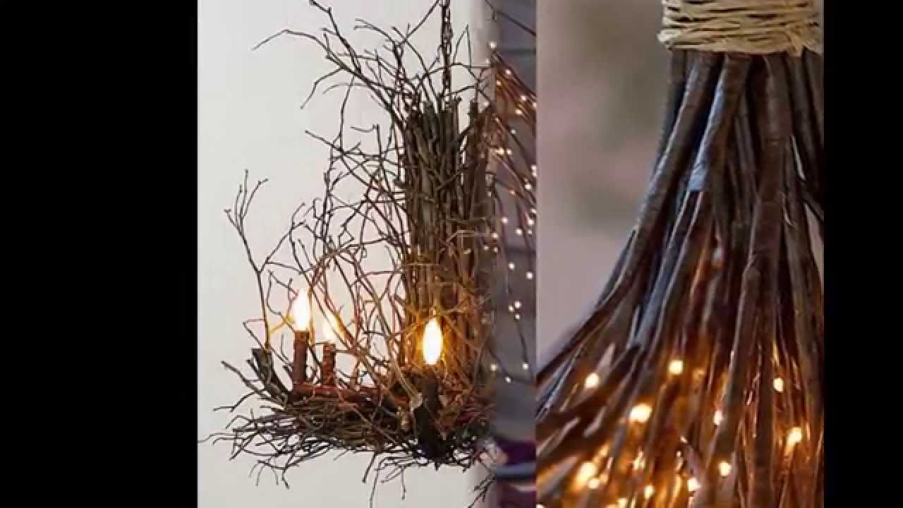 Twig chandelier by simpleform youtube mozeypictures Images