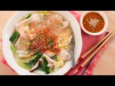 Thai Sukiyaki Recipe (Suki Nam) สุกี้นำ้ | Thai Recipes