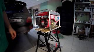 Ремонт генератора Зубр 1500
