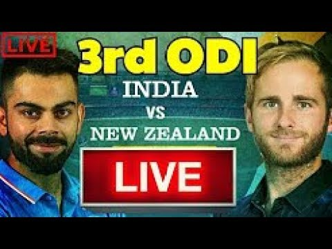 LIVE : India Vs New Zealand 3rd Odi Live Streaming - Ind Vs Nz Live Stream In HD From Kanpur