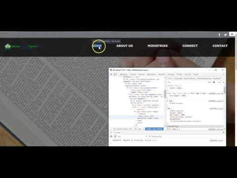 Using Google Chrome Developer tools for html/css problems