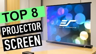 BEST 8: Projector Screen