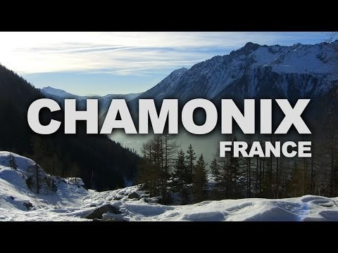 Chamonix, a Ski Resort in the French Alps