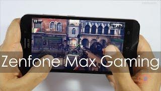 Asus Zenfone Max (2016 Model) Gaming Review