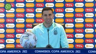 Dibu Martínez | Conferencia de prensa | Previa Brasil vs Argentina | Final Copa América 2021