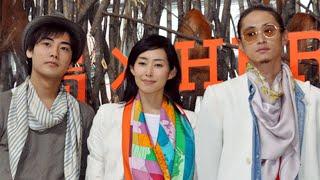 桐野夏生のベストセラー小説を映画化した『東京島』の完成発表会見が、4...
