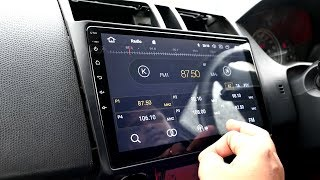 Latest Android 8 Car Infotainment System Un-boxing, Installation tips & Live Features.