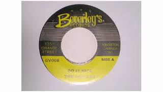 "The Wailers - Do It Nice - 7"" - Beverleys Records"