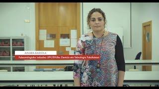 """Zientzialari 104-Ainara Badiola: """"Fosilak aztertuz iraganeko biosferaren berri izan dezakegu"""""""