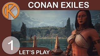 Conan Exiles w/ Friends | WE'RE EXILES - Ep. 1 | Let's Play Conan Exiles Gameplay