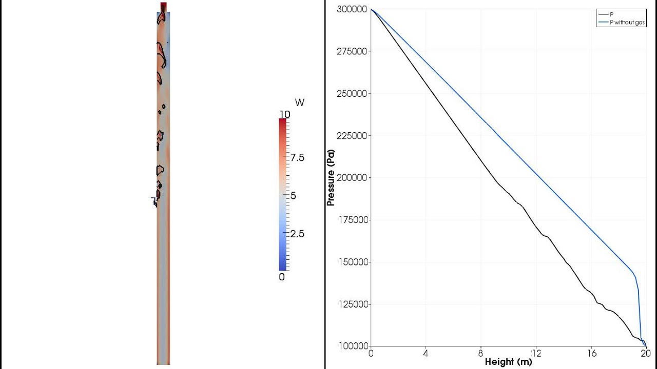 CFD Simulations of the Gas Lift Phenomena in an Oil Riser